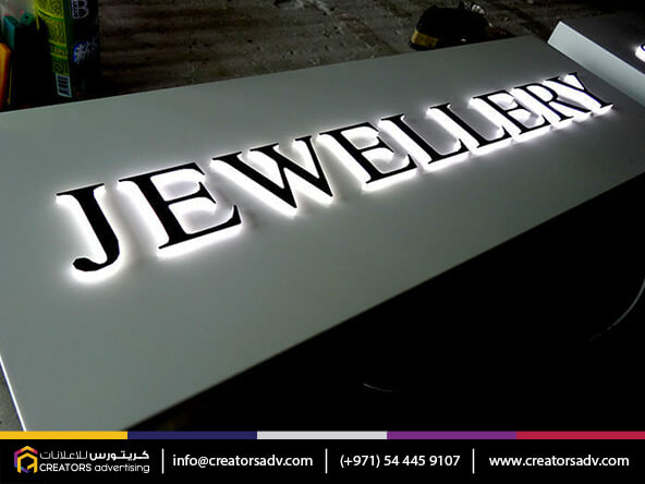 Acrylic LED Signage in Dubai