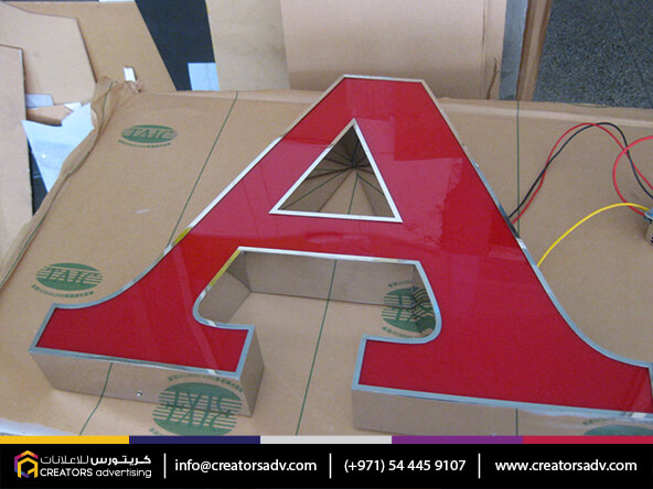 Channel Signage Services