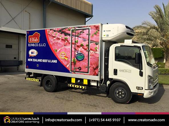 Truck Branding Services
