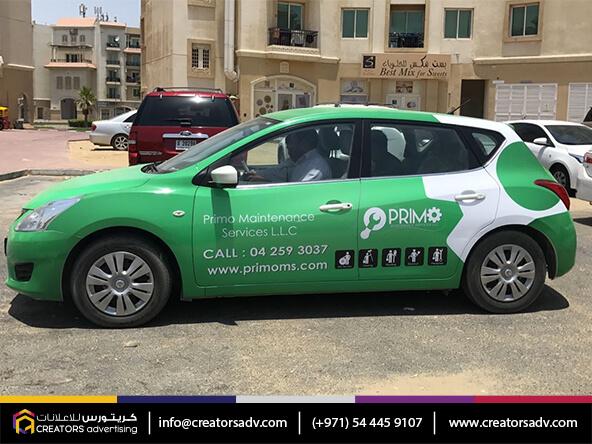 Full Vehicle Branding